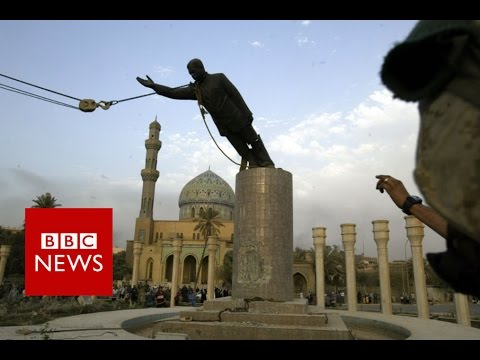 """I toppled Saddam's statue – now I want him back"" BBC News"