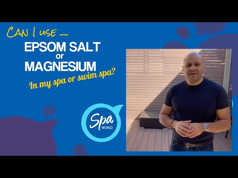 Can I Use Epsom Or Magnesium Salt In My Spa Or Swim Spa Pool