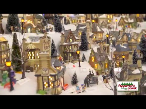 Peppermint Forest Christmas Shop - YouTube