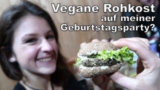 Vegane Rohkost auf einer Party mit Allesessern - geht das gut?