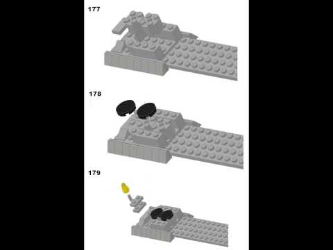 LEGO TRAIN BIG BOY 4-8-8-4 INSTRUCTIONS