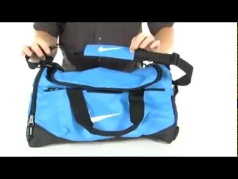 bca44d513cf4 Nike Team Training Small Duffel Black Black (White) - Robecart.com Free  Shipping BOTH Ways - YouTube
