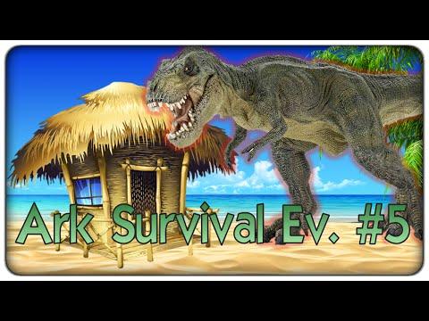 Ark Survival Evolved | La casa anti dinosauro, ma anche no! - ep. 05 - survival coi dinosauri [ITA]