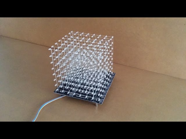 jolliCube - 8x8x8 LED Cube Assembly Part 1