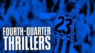 Fourth-Quarter Thrillers: Haw v Adel, elimination final 2007 | AFL