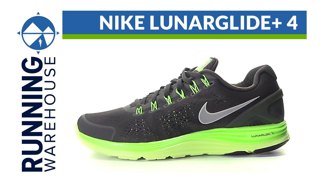 9680d111544f Nike LunarGlide+ 4 Shoe Review - YouTube