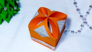 DIY Gift box - NO templates!!!!! ANY SIZE ! SUPER easy. Paper gift box
