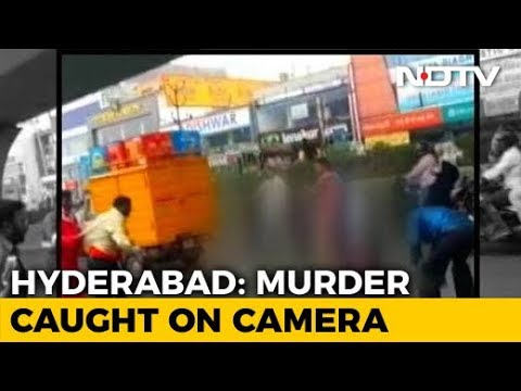 "Murder On Busy Hyderabad Road; ""Cops Went To Get Batons,"" Says Officer"