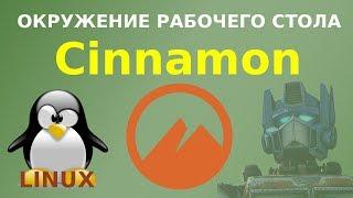 Знакомство с Cinnamon - популярным окружением рабочего стола Linux