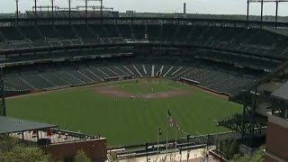No fans? Play ball! Orioles start their crowd-less game