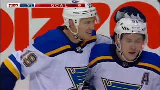 Tarasenko scores twice as Blues dump Jets