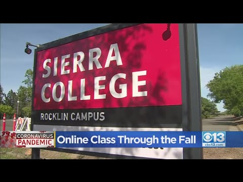 Sierra College Will Be Online Through The Fall