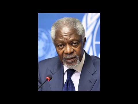 Kofi Annan     Final Major Speech as U.N.  Secretary General