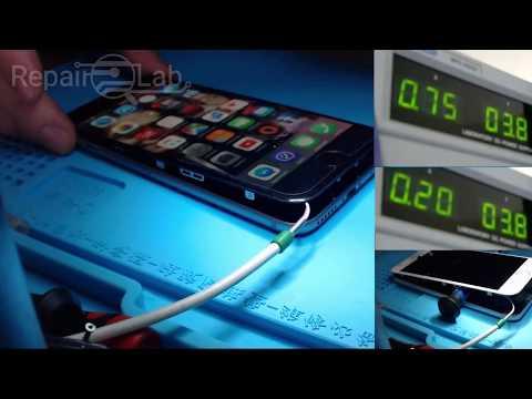 Iphone 6 battery drain Faulty VS Good (u1700) tristar IC