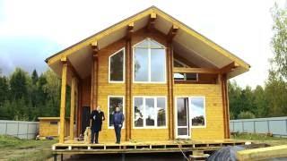 видео Второй свет в деревянном доме