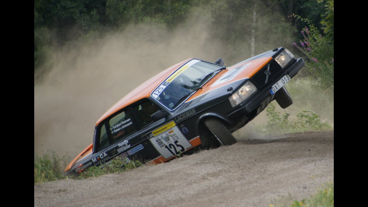 Extreme Volvo Rallying - YouTube