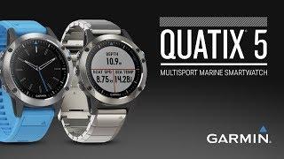 quatix® 5 and quatix 5 Sapphire multisport GPS smartwatches
