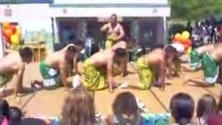 SAMOAN DANCE  @ EVRGREEN...SPRING FLING