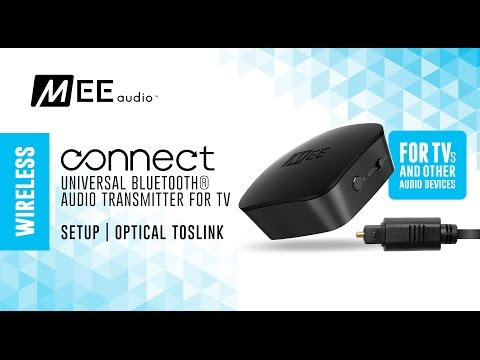 MEE audio Connect Optical TOSLINK Setup Guide