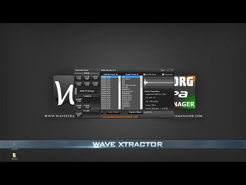 KORG PA Manager - WAVE Xtractor - [Part 2]