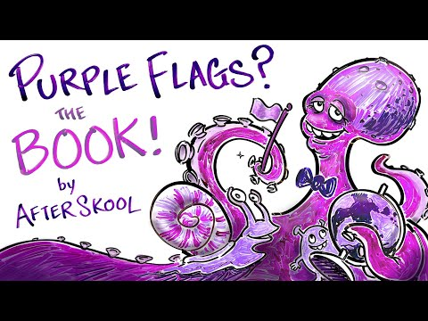 Why Don't Country Flags Use the Color Purple? THE BOOK!