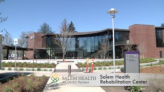 Insight goes to salem health's new rehabilitation center, getting an overview with guest phil haworth, center manager. highlights include and ...