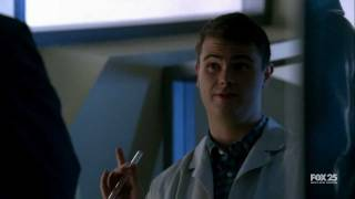 Fringe Episode 2.08 Scene - Brandon Explains About The Observers
