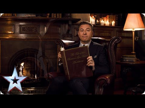 FIRST LOOK: Story time with David Walliams | BGT 2019