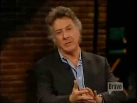 Dustin Hoffman on Laurence Olivier