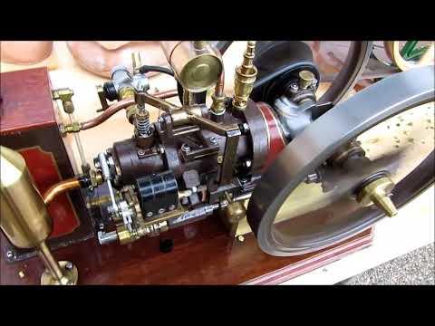 Standmotor M.Lange mit Futtermaschine