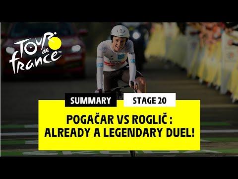 #TDF2020 - Stage 20 - Pogačar Vs Roglič :Already A Legendary Duel!