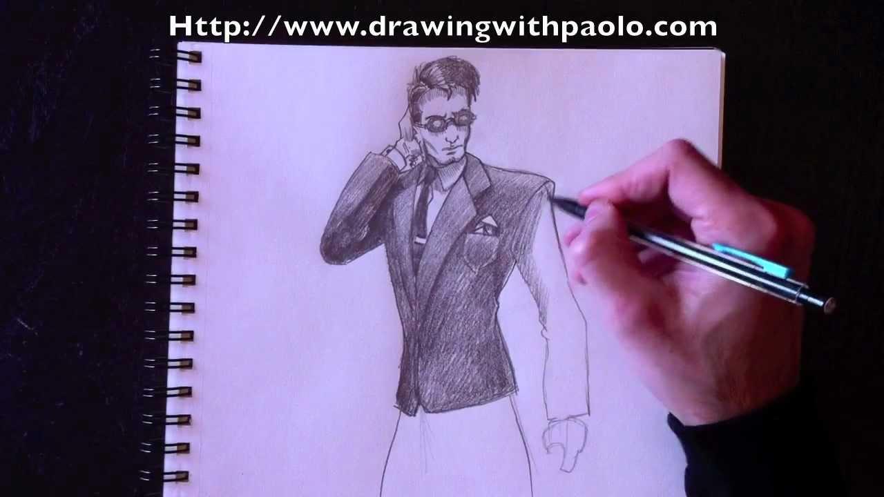 Dessiner un Agent Secret avec Paolo Morrone - YouTube