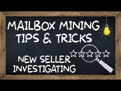 Tips & Tricks - How To Investigate New Paydirt Sellers On EBay!