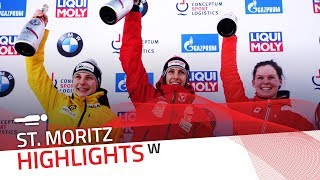 St. Moritz is Janine Flock's wonderland | IBSF Official