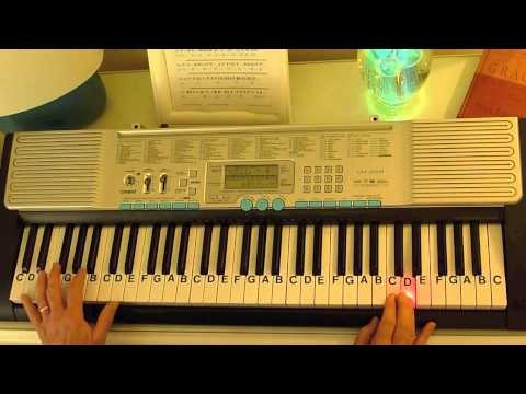 How to Play ~ Eine Kleine Nacht Musik ~ Mozart ~ LetterNotePlayer ©