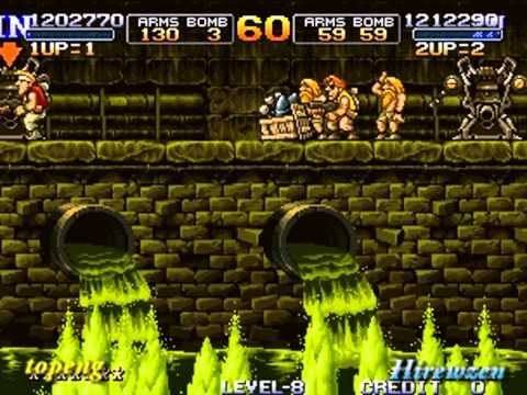Metal Slug X Two Player One Coin(L.V8)