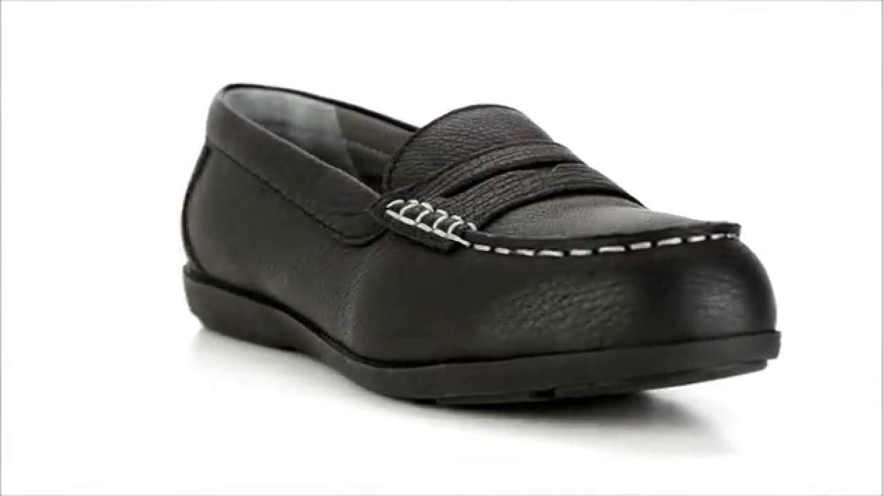 Women's Rockport Steel Toe Penny Loafer RP600 @ Steel-Toe ...