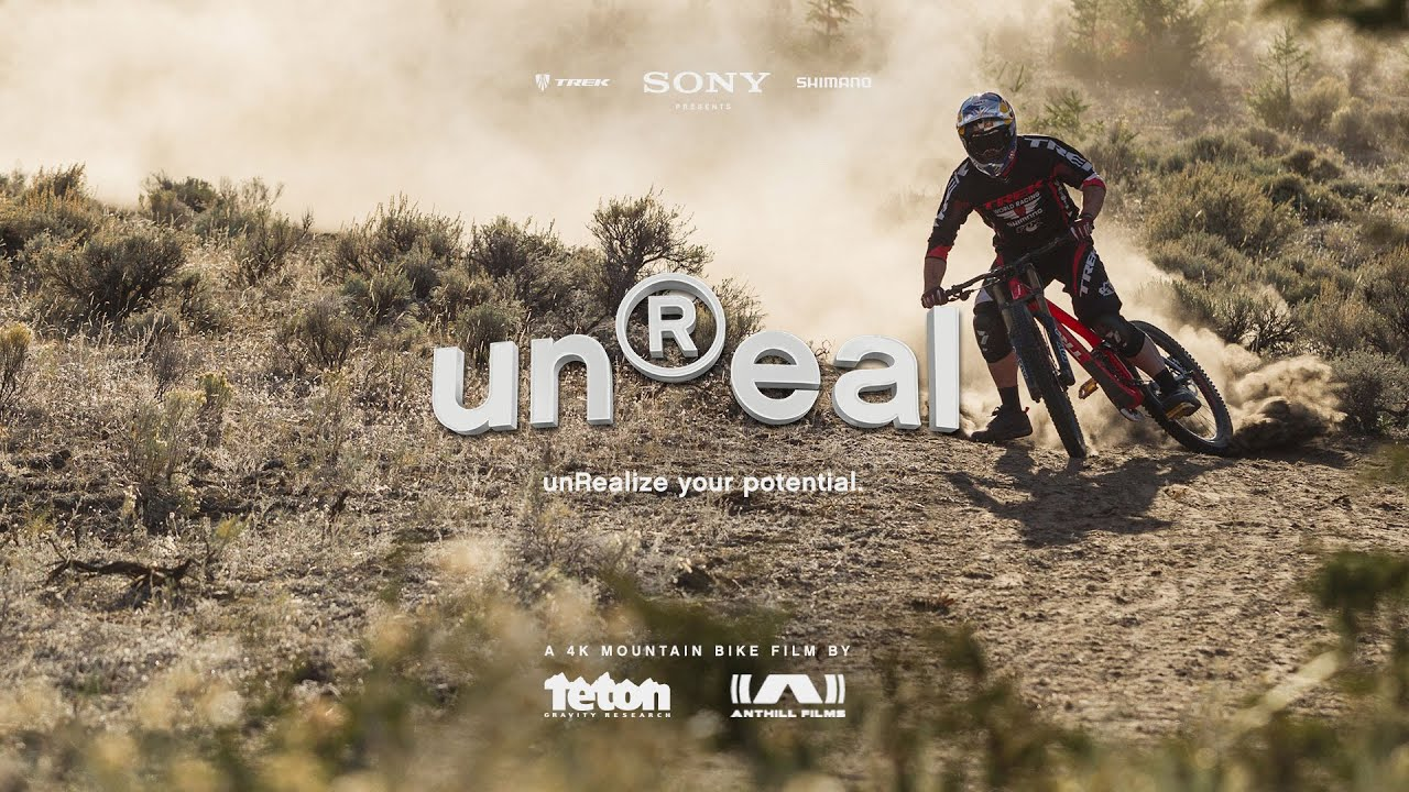 The Unreal Movie Official Trailer A 4k Mountain Bike Film Youtube