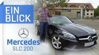 Mercedes SLC 200 2018 – Der Mercedes unter den Roadstern? Vorstellung, Test & Kaufberatung