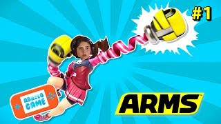 Combates en Linea en Arms Español de Nintendo Switch Abrelo Game