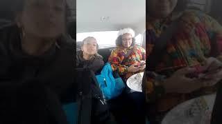 MUSIC: Natasha and Rebecca singing in the car Xmas 2017