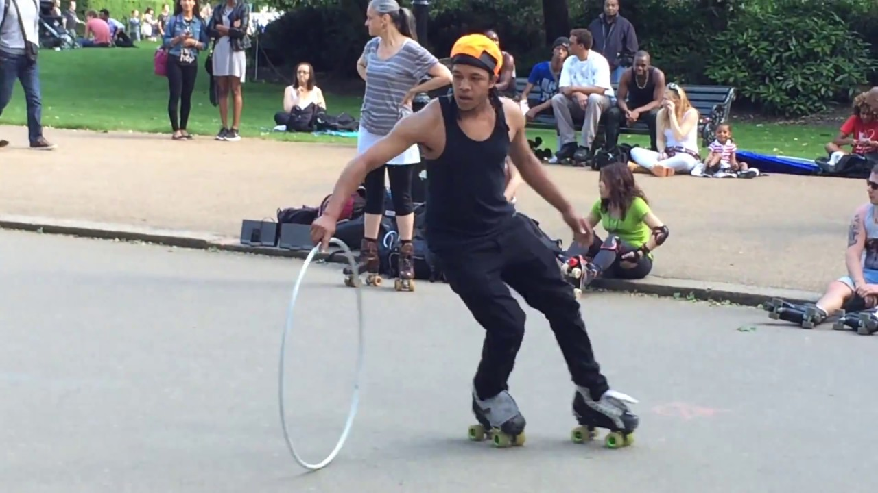 Roller skating park