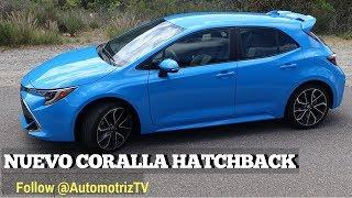 Corolla hatchback. Toyota con las pilas puestas.