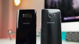 Samsung Galaxy S8 vs S7 Edge Camera Comparison