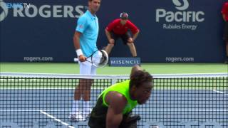 Gael Monfils Top 5 Moments Versus Djokovic Toronto 2014