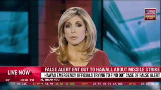 Wrong Button Hawaii For False no coming Ballistic Missile Alarm | BREAKING News USA