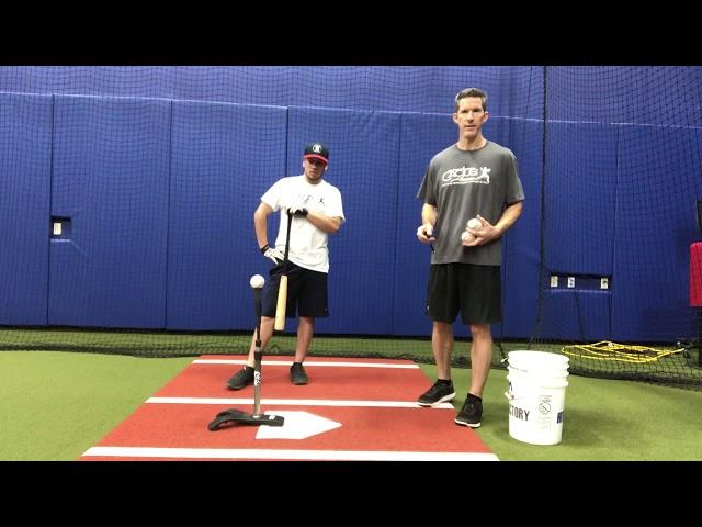 Batting Tee Rhythm Drill
