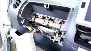 Замена саланного фильтра Toyota Passo 2005 года Тойота Пассо