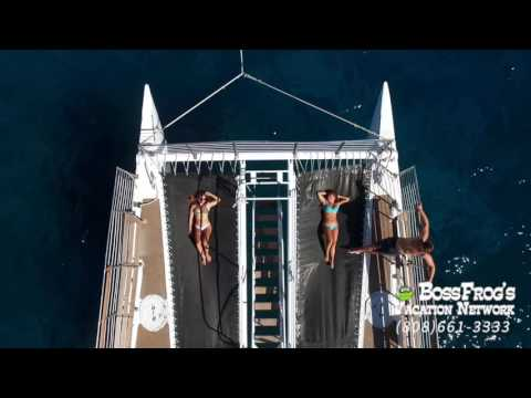Malolo Molokini Snorkeling Tour | Aerial Footage