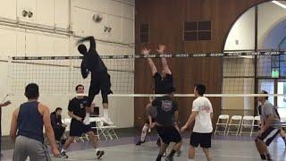 NCVA 2016 League 1- The Tall Ones vs XLVB Volleyball Highlights